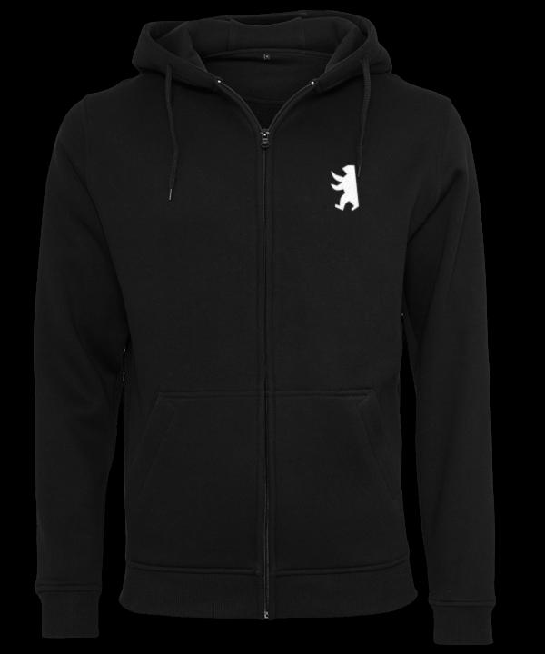 Berliner Bär symbolisch Hoodie Jacke
