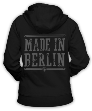 Made in Berlin Kapuzen Jacke