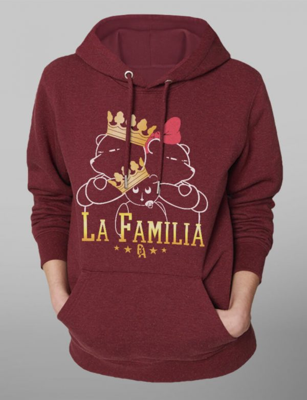 Unisex Organic Hoodie // La Familia