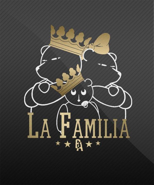La Familia Auto Aufkleber