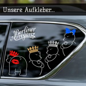 Berliner Bären Aufkleber