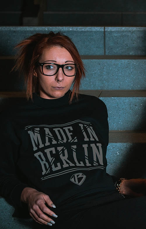 Bauchfrei Pulli Made in Berlin