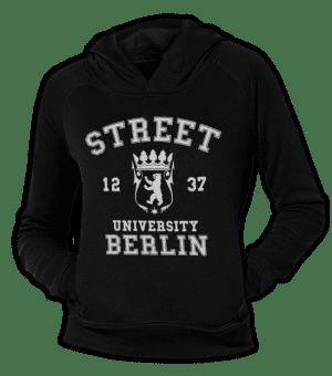 Street University Berlin Fit Hoodie