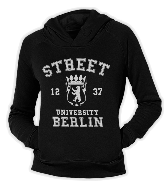Street University Berlin Fit Hoodie