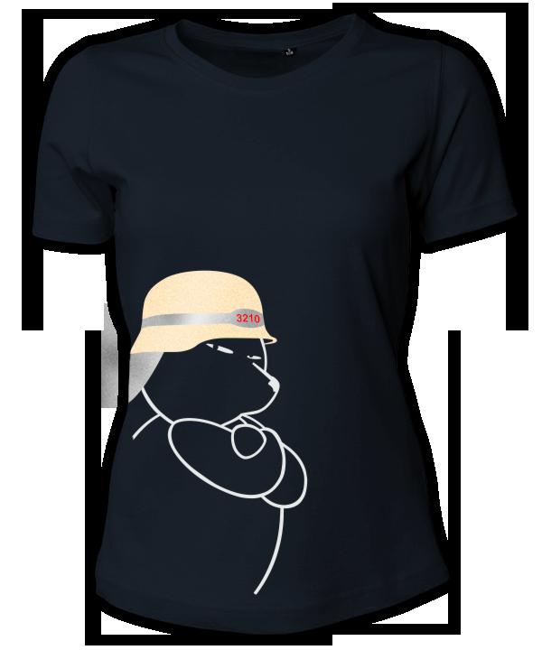 Berliner Bär Feuerwehr Helm Shirt