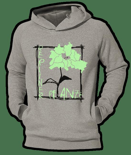 Berliner Pflanze Hoodie