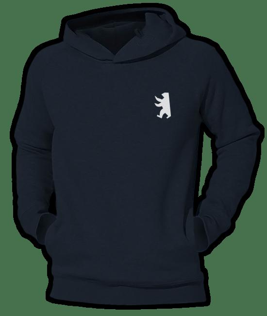 Berliner Bär symbolisch Fit Hoodie
