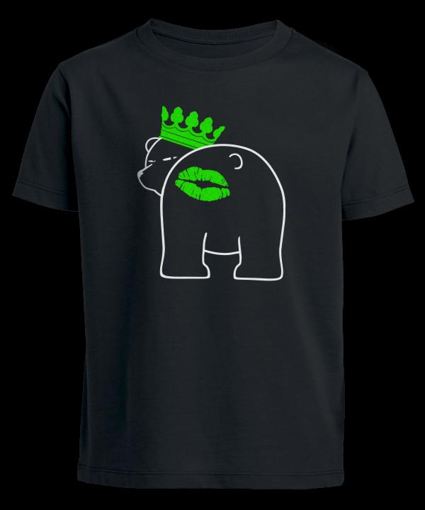Berliner Bär Knutscher Kuss Mund auf Arsch Backe Hintern Shirt