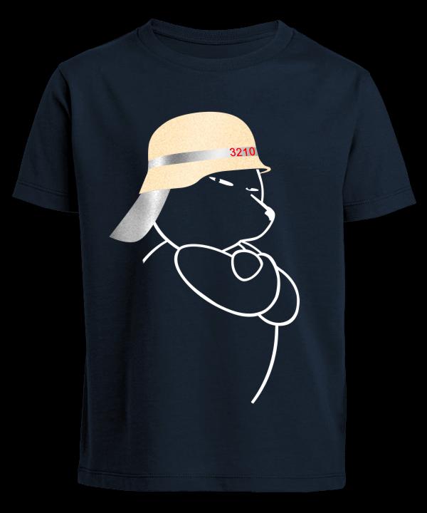 Berliner Bär Feuerwehr Helm Kinder Shirt
