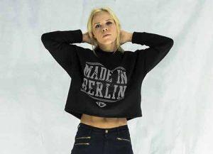 Bauchfrei Pulli // Made in Berlin