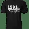 T-Shirt Geburtsjahr Berliner Original schwarz