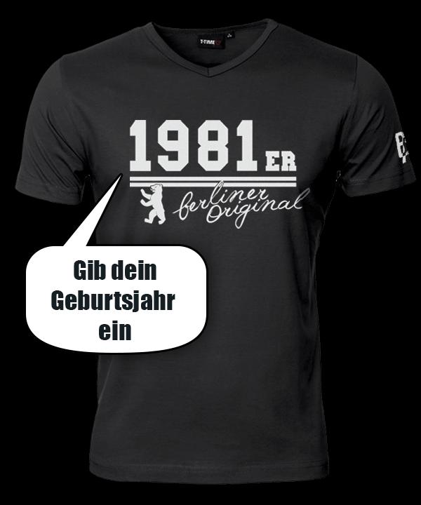 T-Shirt V-Ausschnitt // Berliner Original